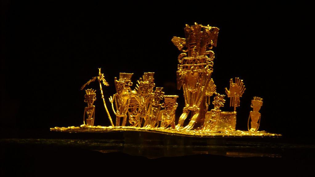 Gold museum in San José
