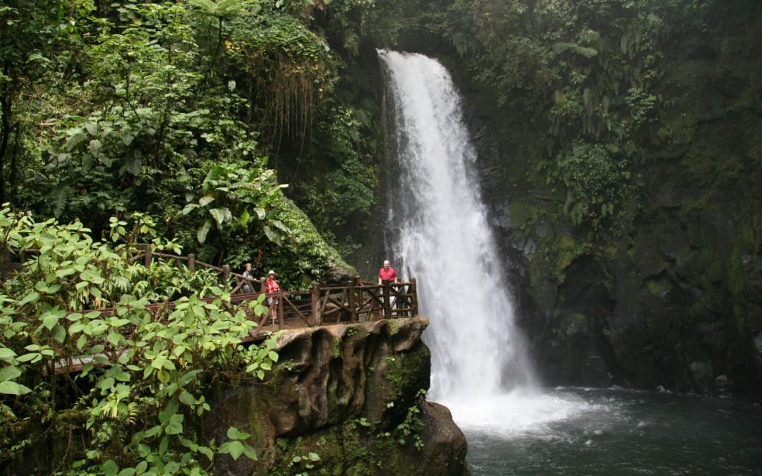 Wasserfall Garden La Paz