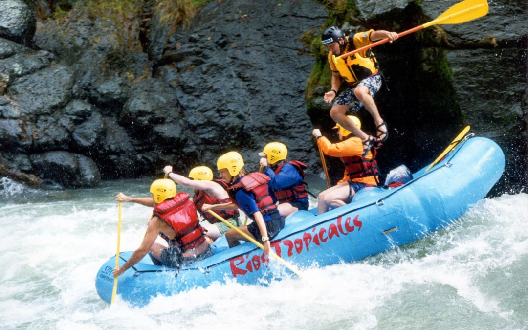 Rafting auf dem Pacuare Fluss