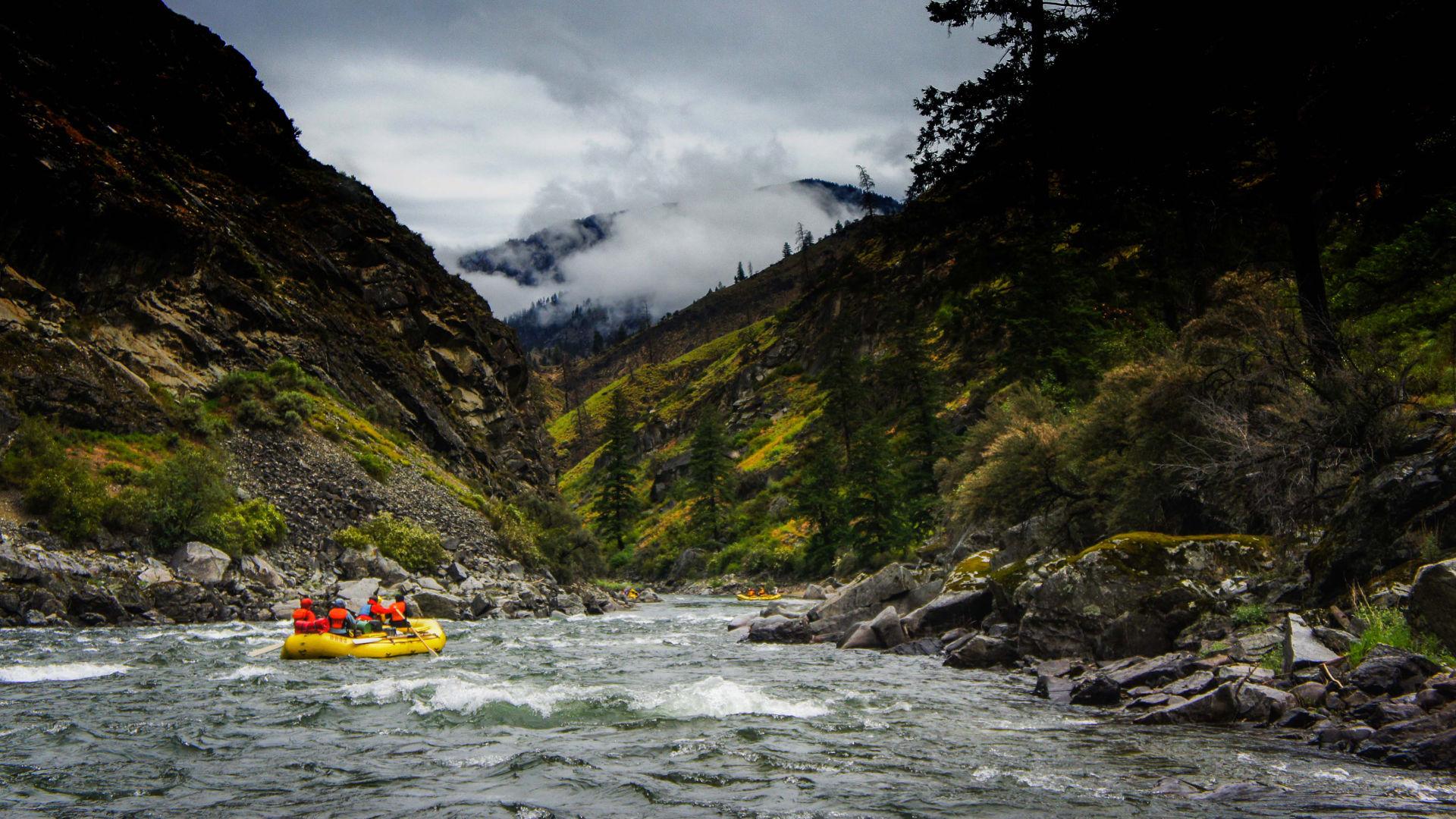 Rafting sur la rivière Pacuare